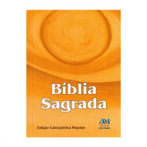 Bíblia Catequética Popular Média