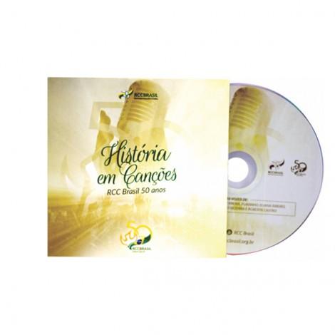 CD História em Canções - 50 Anos RCCBRASIL