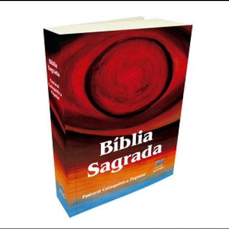 Bíblia Sagrada Pastoral Catequética Popular - Médio