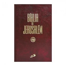 Biblia de Jerusalém Média Encadernada